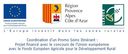 Logo LEADER Promo Soins Itinérant