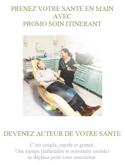 Brochure Promo Soins Itinérant à Carcès
